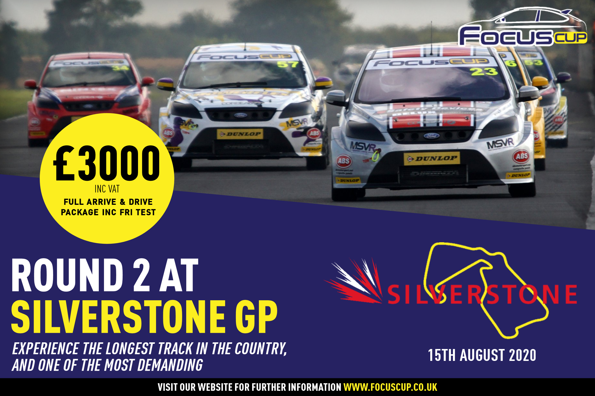 Your chance to race SILVERSTONE GP