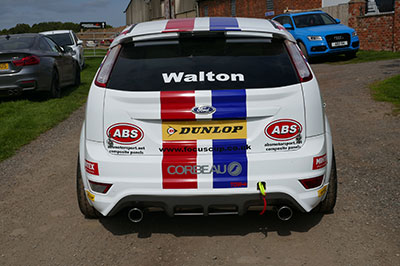 ABS Motorsport Back of car